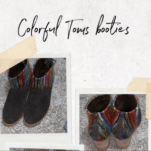 Colorful Toms Booties!!!